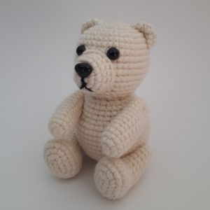 Crocheted Polar Bear